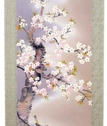 桜に小禽之図