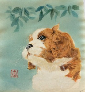 「ペット友禅画」を始めました。
